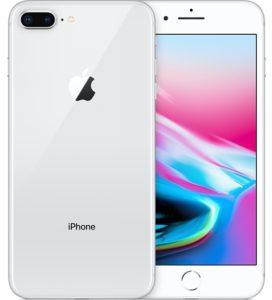 iPhone 8plus, 256GB, Silver , Alder på produkt: 4 måneder